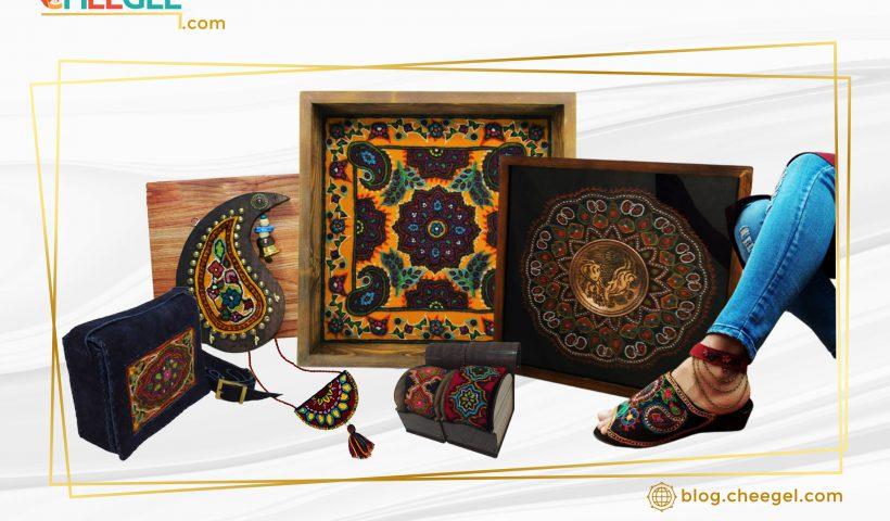 محصولات پته دوزی کرمان مهلا حسن خانی